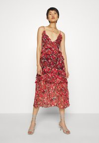 Stevie May - NO SUCH THING MIDI DRESS - Day dress - red - 1