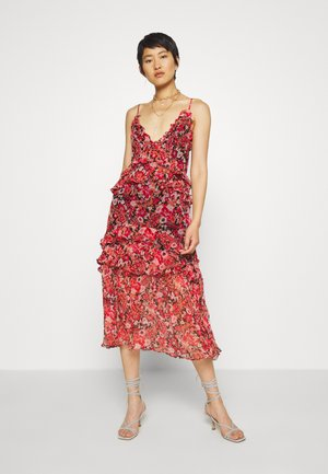 NO SUCH THING MIDI DRESS - Day dress - red