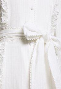 Stevie May - SOFTLY MIDI DRESS - Shirt dress - white - 2