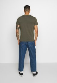 STEREOTYPE - ACID TEE - T-shirt con stampa - khaki - 2