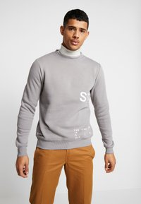STEREOTYPE - INSTRUSTIONS CREW - Sweater - grey - 0