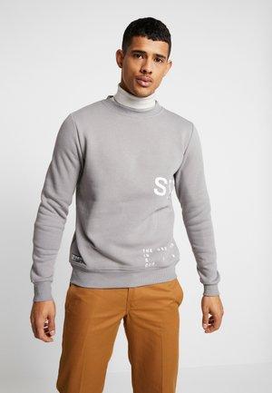 INSTRUSTIONS CREW - Sweater - grey