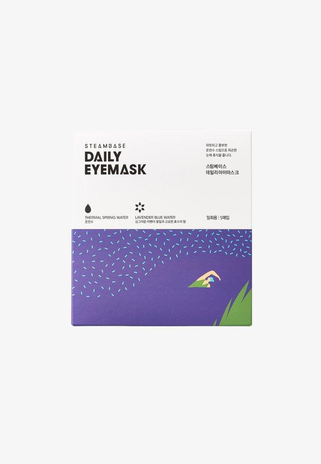 DAILY EYEMASK - Ansigtsmaske - lavender blue water
