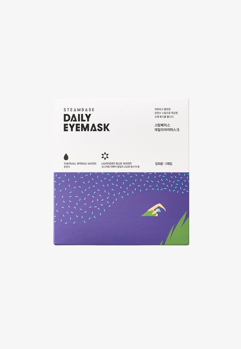 Steambase - DAILY EYEMASK - Ansiktsmask - lavender blue water