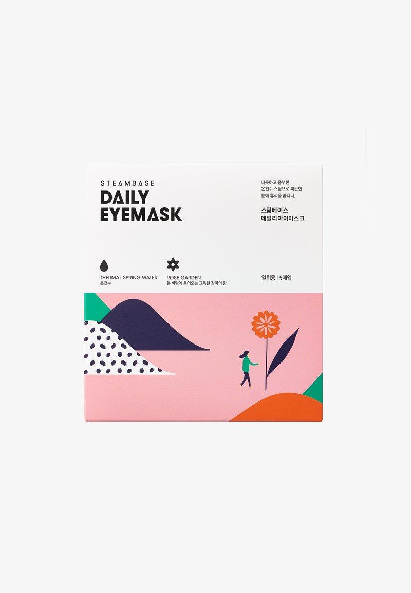 Steambase - DAILY EYEMASK - Ansiktsmask - rose garden