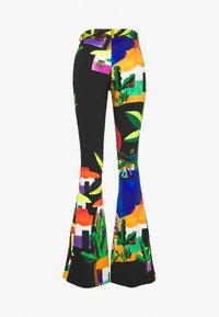 Stieglitz - ROSARIO FLARED PANTS - Trousers - black - 1