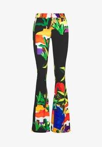 Stieglitz - ROSARIO FLARED PANTS - Trousers - black - 0