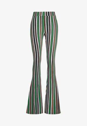 DELIA FLARED LEGIGNGS - Spodnie materiałowe - red