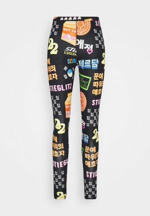 SIU  - Leggings - Trousers - black