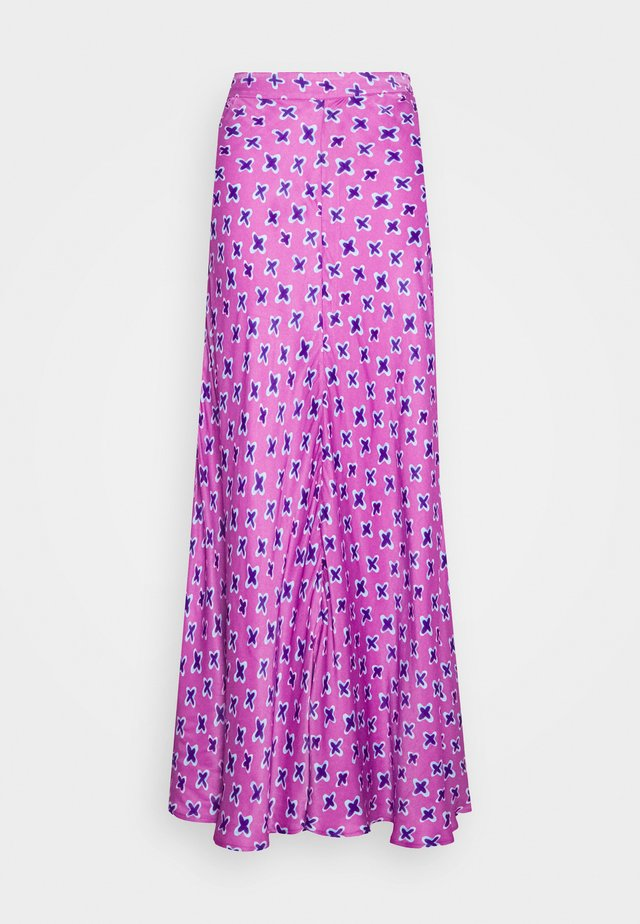 LUIS SKIRT - Maxinederdele - lilac
