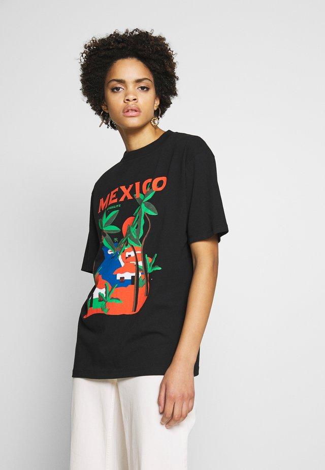 ROSARIO TEE - T-shirt imprimé - black
