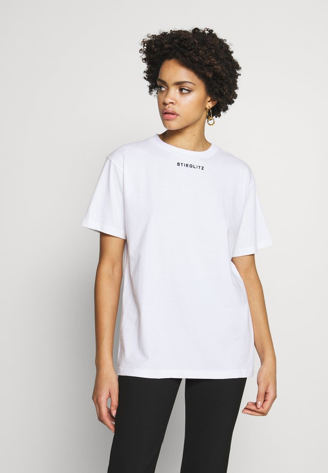 WORLDWIDE TEE - T-shirt med print - white