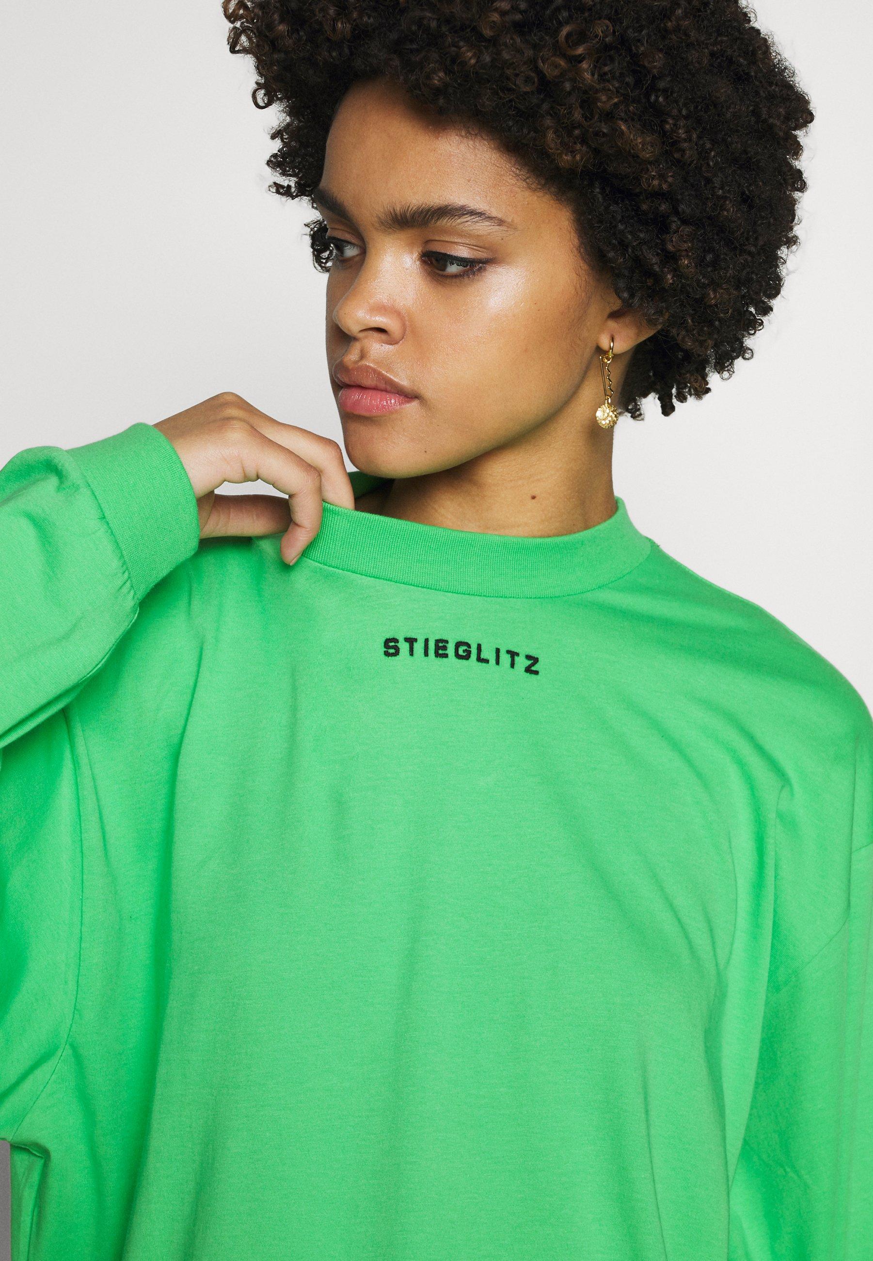 Stieglitz Stieg Skateshirt - Långärmad Tröja Green