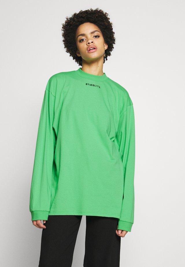 STIEG SKATESHIRT - Long sleeved top - green