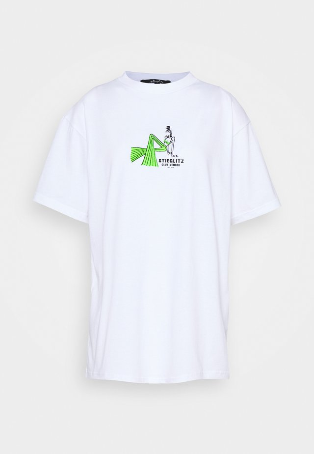 YEAR TEE - T-shirt imprimé - white