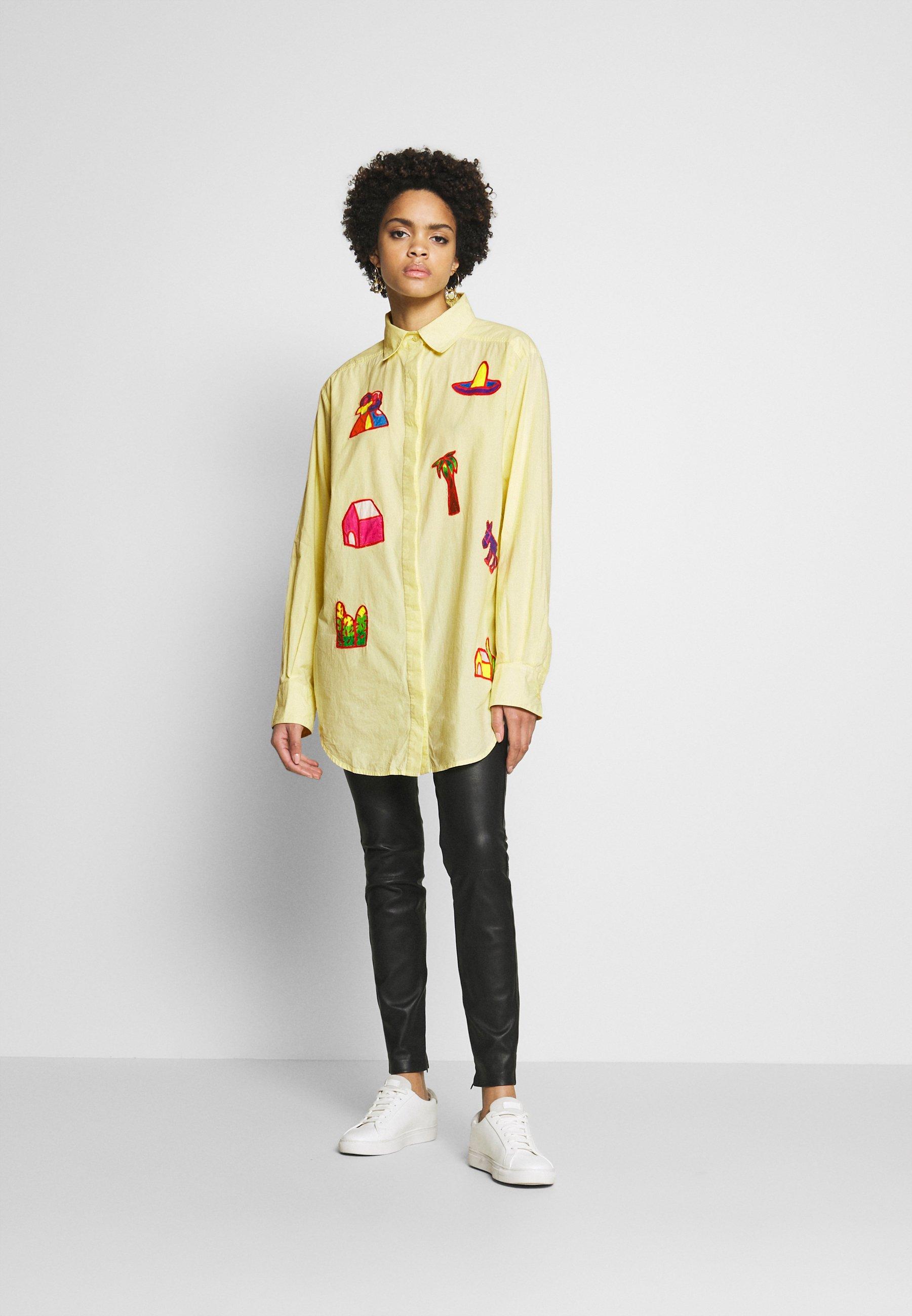 Stieglitz RAUL BLOUSE - Button-down blouse - yellow wVooQ