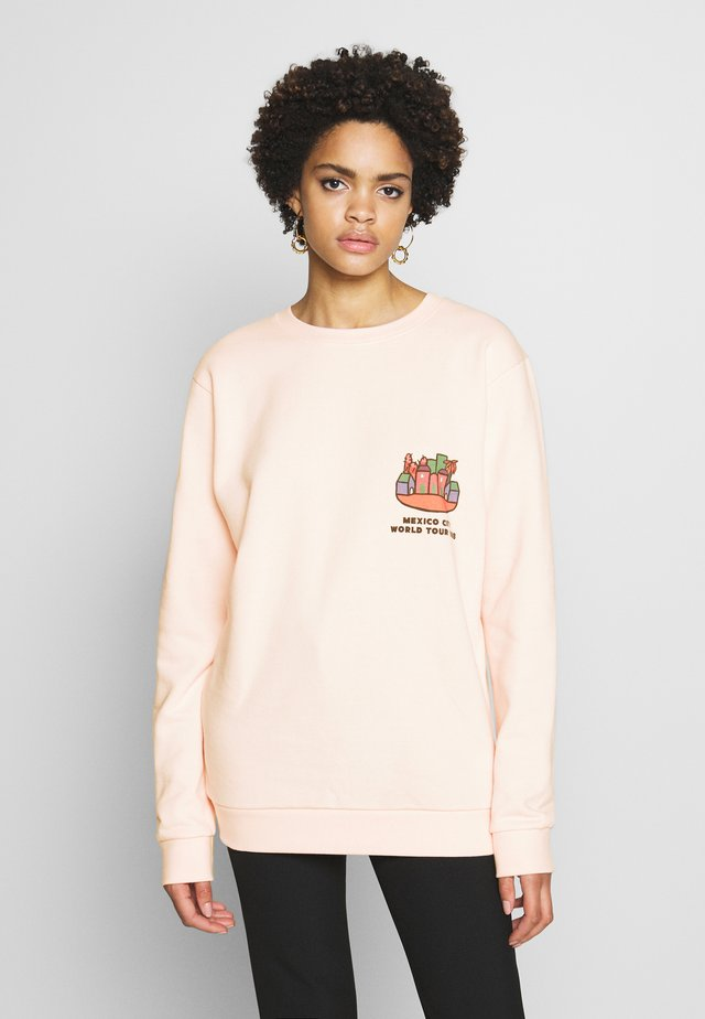 WORLD TOUR - Sweatshirt - rose