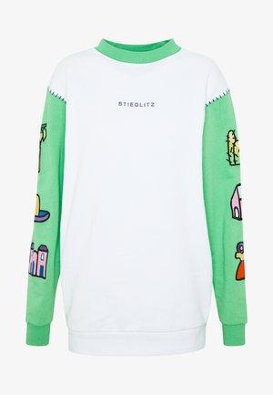 FER - Collegepaita - green/white