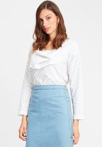 SoSUE - CELIA - Blouse - white blue - 0