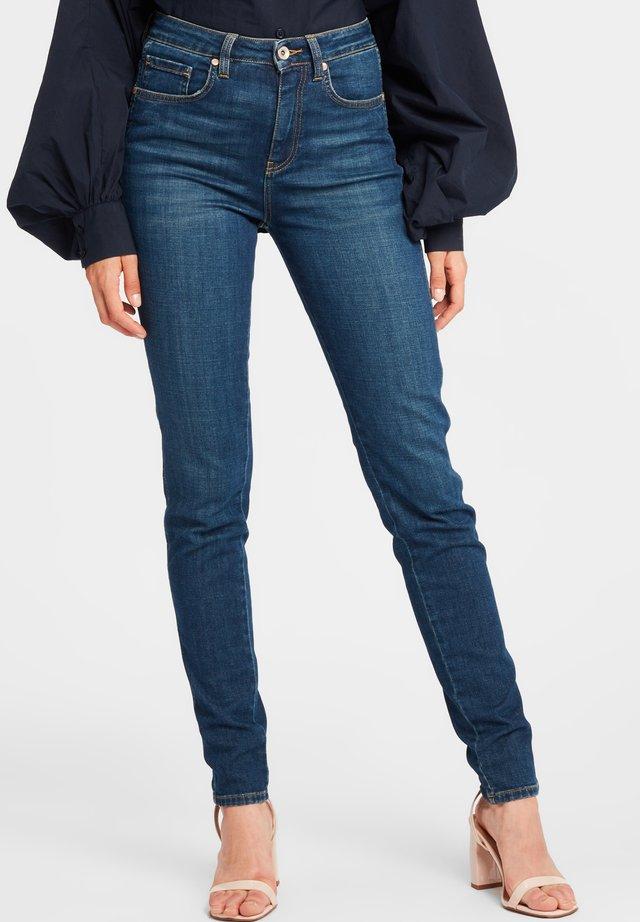 Jeansy Slim Fit - dark blue
