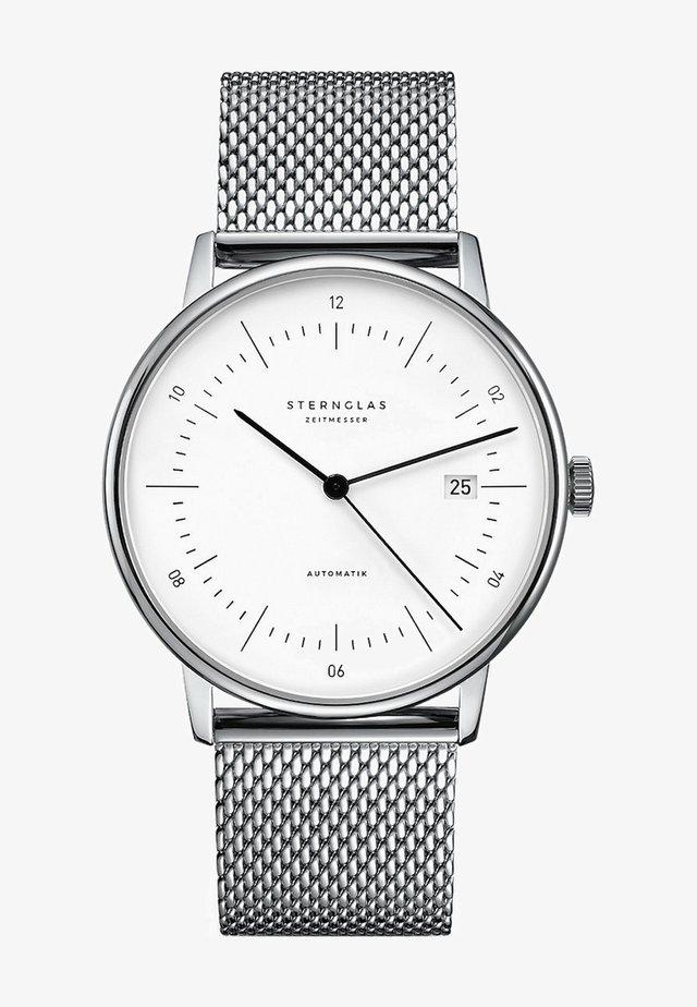 STERNGLAS HERREN-UHREN ANALOG AUTOMATIK - Watch - silver-coloured