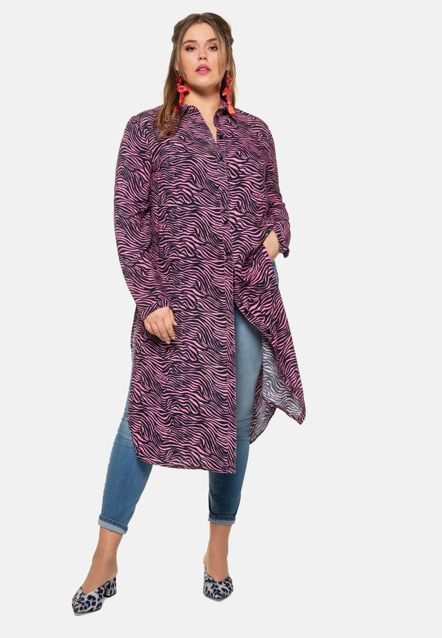 Blusenkleid - purple