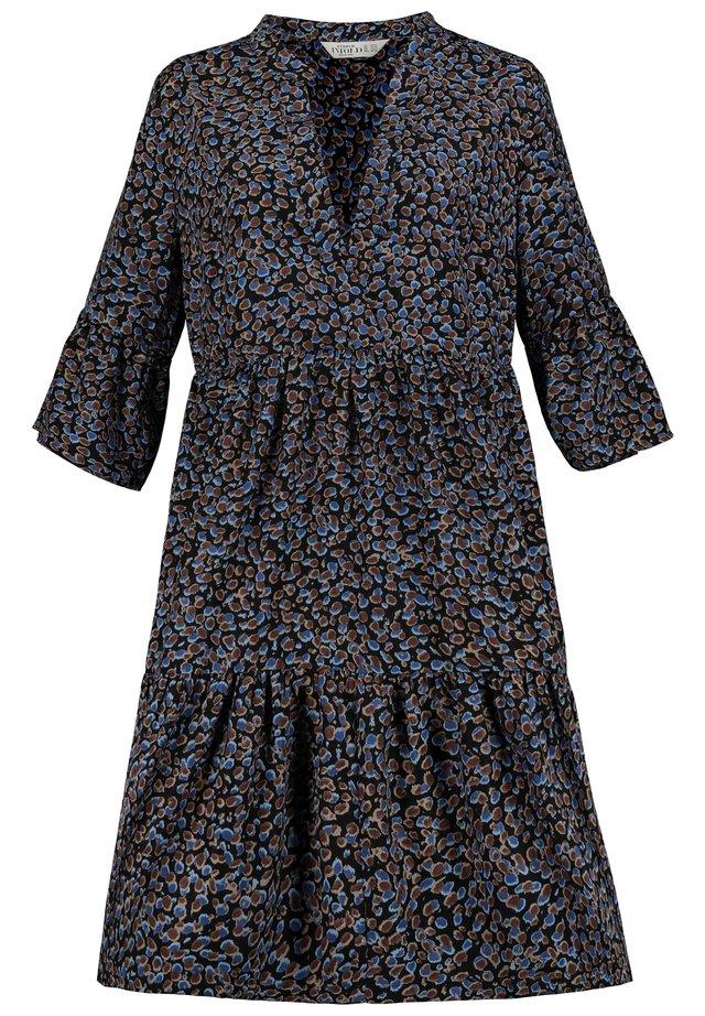 Day dress - schieferblau