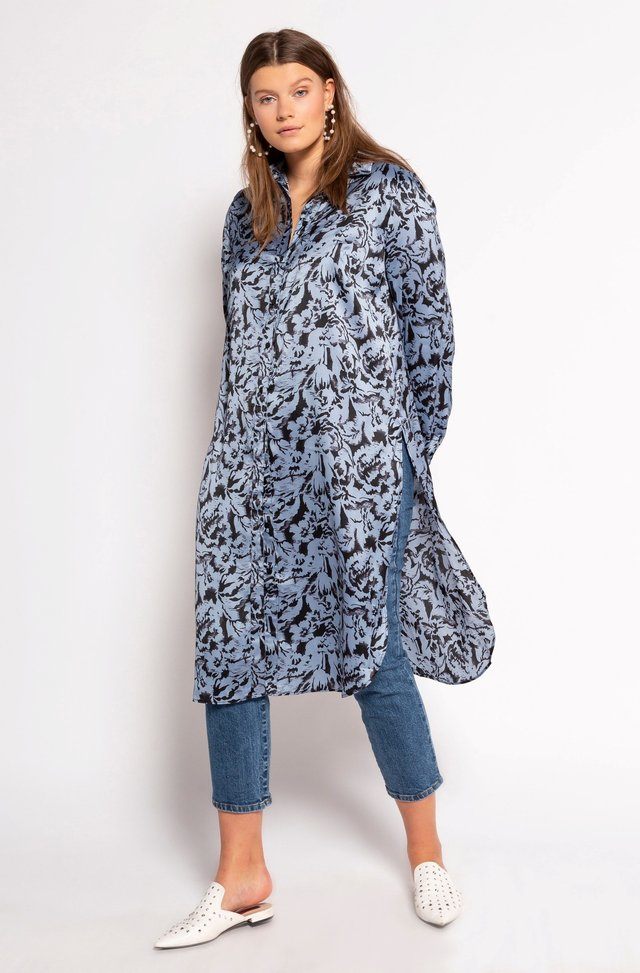 GROSSE GRÖSSEN - Button-down blouse - blassblau
