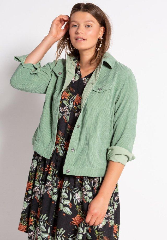 Summer jacket - salbeigrün