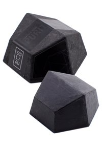 Solidu - SOAP PURITY. - Soap bar - black - 1
