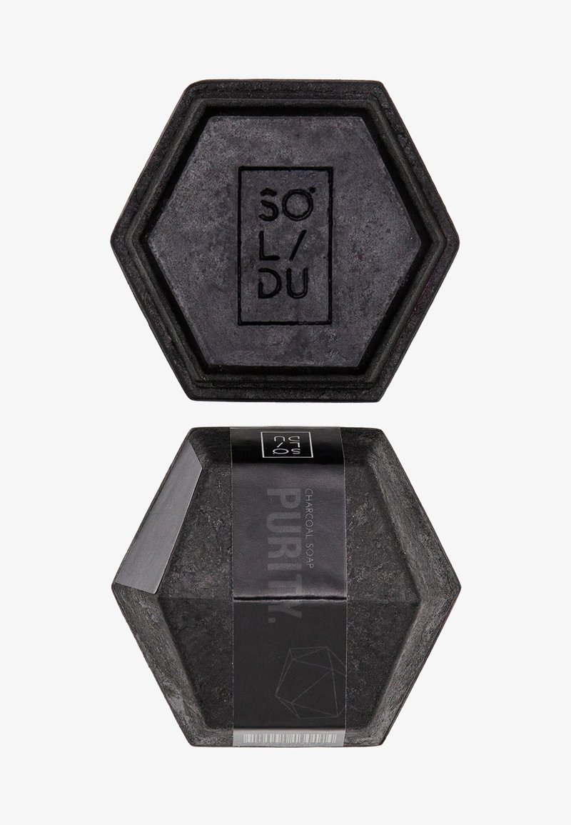 Solidu - SOAP PURITY. - Soap bar - black