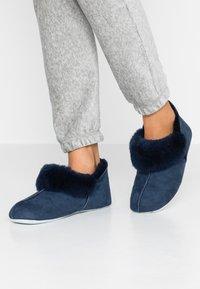 Shepherd - NINA - Slippers - dark blue - 0