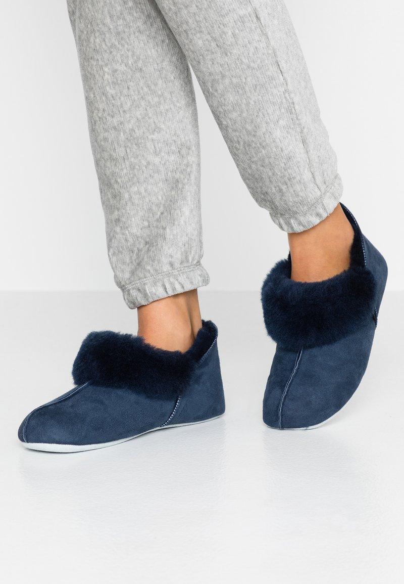 Shepherd - NINA - Slippers - dark blue