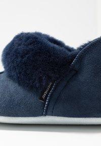 Shepherd - NINA - Slippers - dark blue - 2