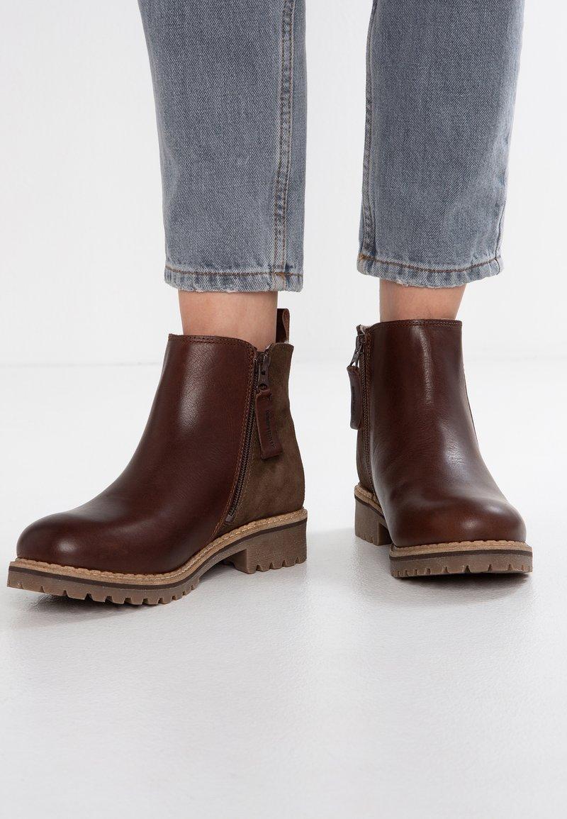 Shepherd - ELLINOR - Ankle boots - brown