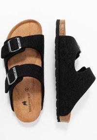 Shepherd - MIKAEL - Domácí obuv - black - 1
