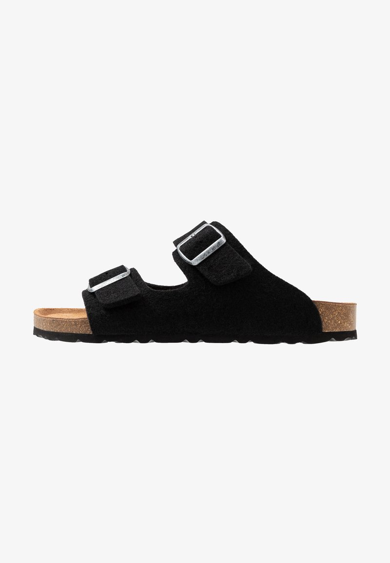 Shepherd - MIKAEL - Domácí obuv - black