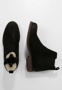 Shepherd - EMANUEL - Kotníkové boty - black - 1