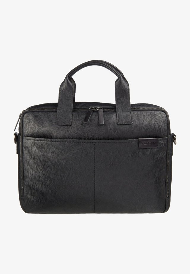 GARRET - Briefcase - black