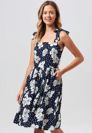 MIRIAM HAWAIIAN - Korte jurk - dark blue