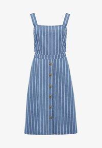 Sugarhill Brighton - ROSA CHAMBRAY STRIPE - Korte jurk - blue - 4