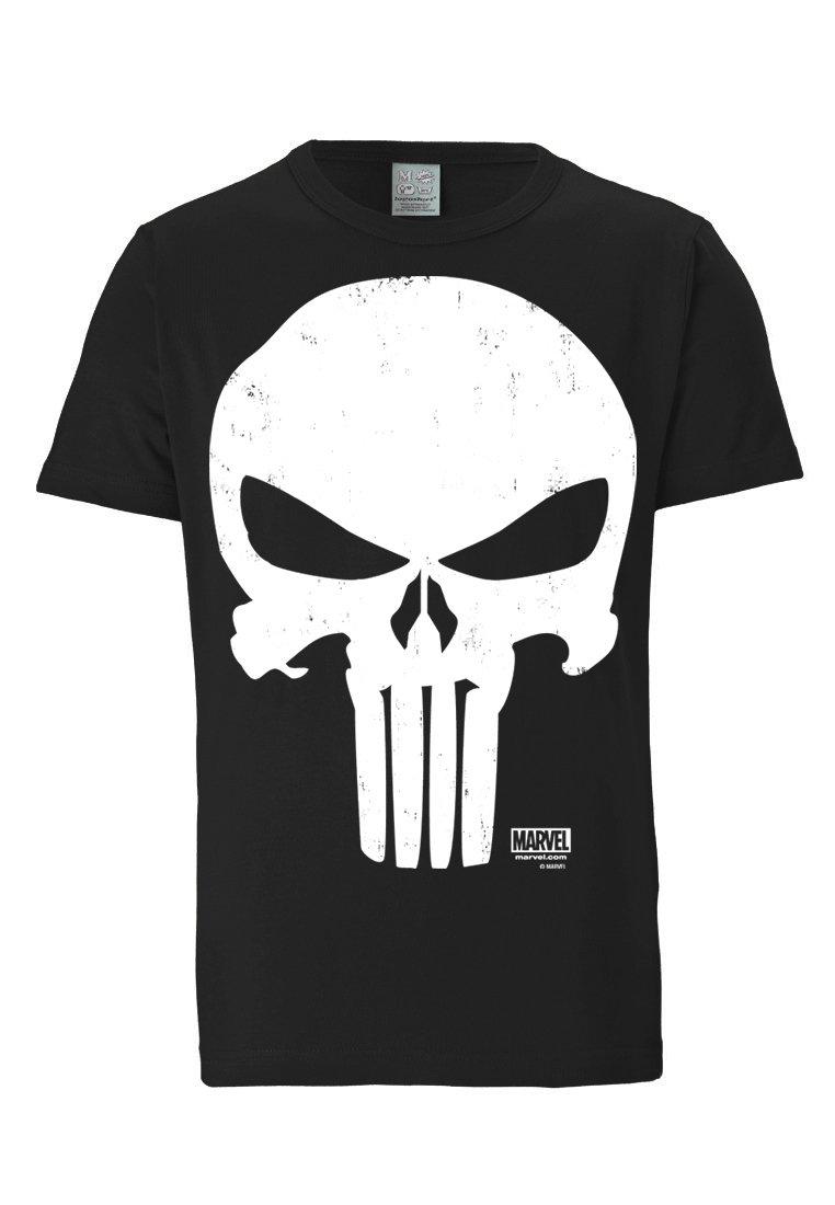 LOGOSHIRT - PUNISCHER - T-shirt imprimé - schwarz