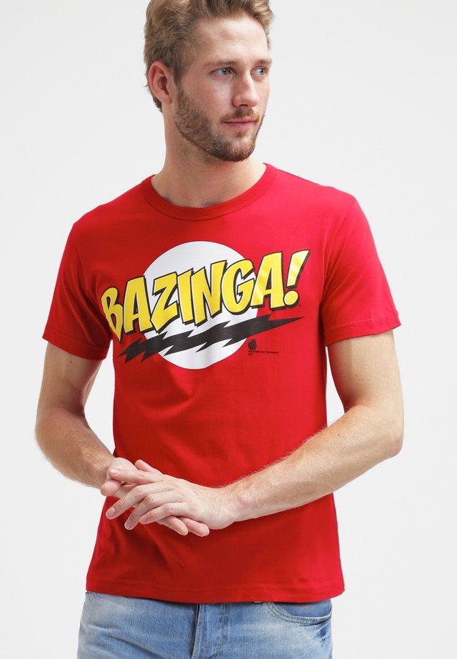 BIG BANG THEORY - Print T-shirt - rot
