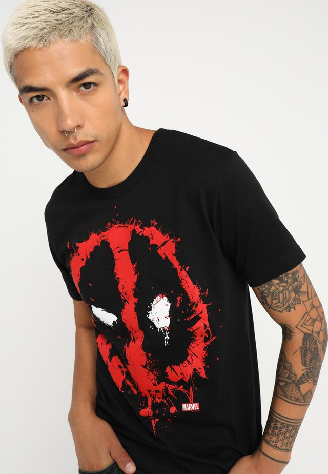 MARVEL DEADPOOL EASYFIT - Print T-shirt - black