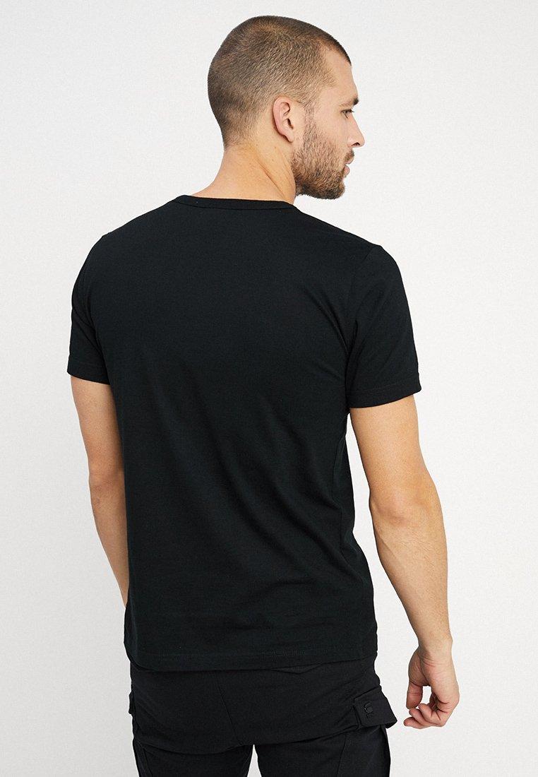 Black Easy FitT Logo Imprimé Marvel Logoshirt shirt rQdtsh