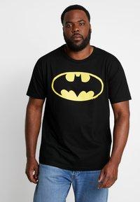 LOGOSHIRT - BATMAN LOGO - T-shirts med print - black - 0