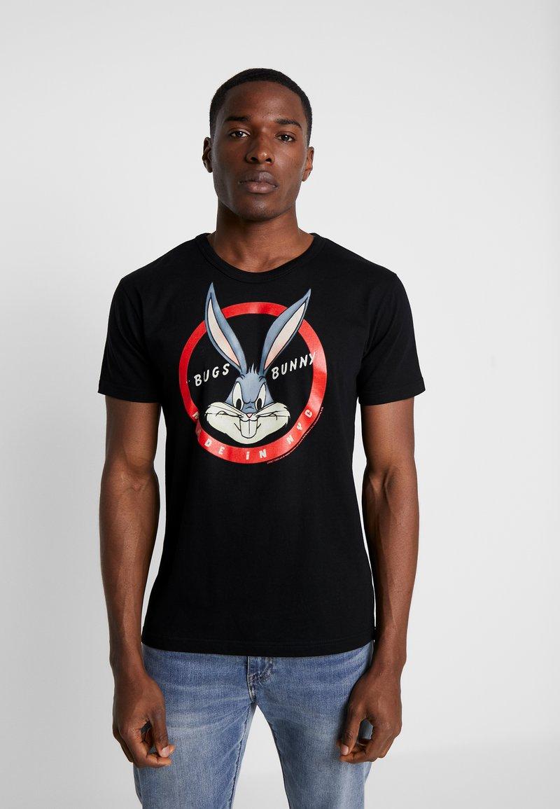 LOGOSHIRT - LOONEY TUNES BUGS BUNNY MADE IN N.Y.C. - Camiseta estampada - black