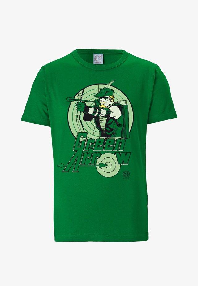 GREEN ARROW - Print T-shirt - grün
