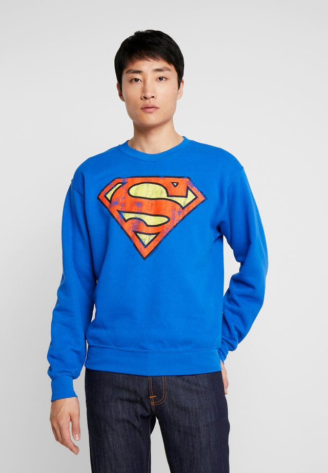 SUPERMAN - Sweatshirt - azure blue
