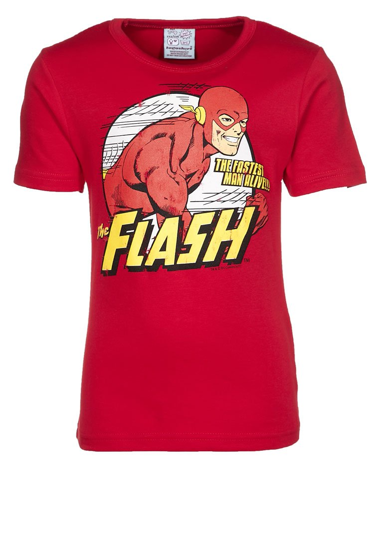 LOGOSHIRT - FLASH - Print T-shirt - red